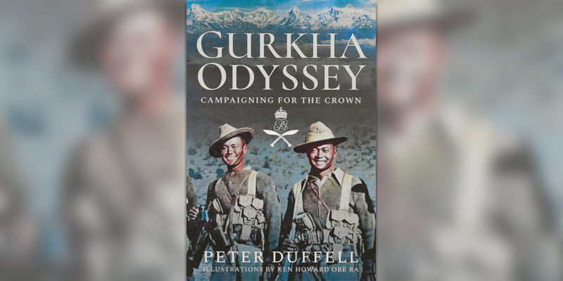 'Gurkha Odyssey: Campaigning for the Crown' book cover
