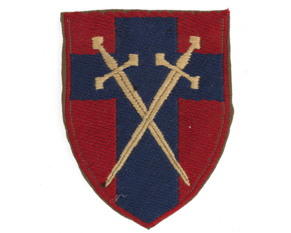 British Army of the Rhine formation badge, c1958