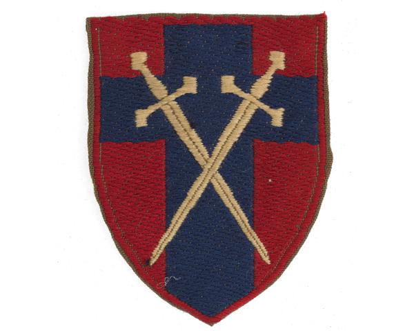 British Army of the Rhine formation badge, c1958