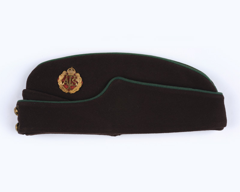 Officer's field service forage cap, ATS, c1945