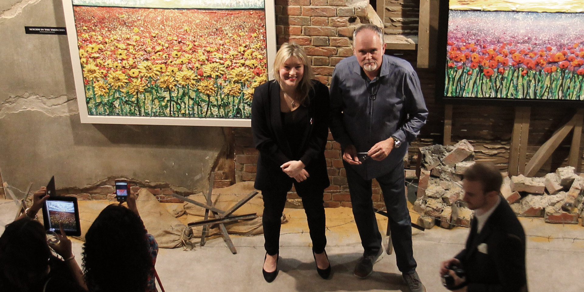Scarlett Raven and Marc Marot, the creators of The Danger Tree