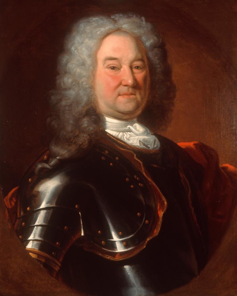 Captain Robert Parker, The Royal Regiment of Ireland, c1720