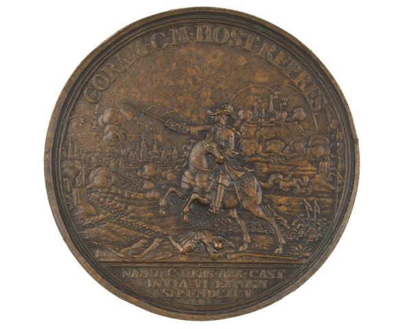 Bronze medal commemorating the Siege of Namur, 1695