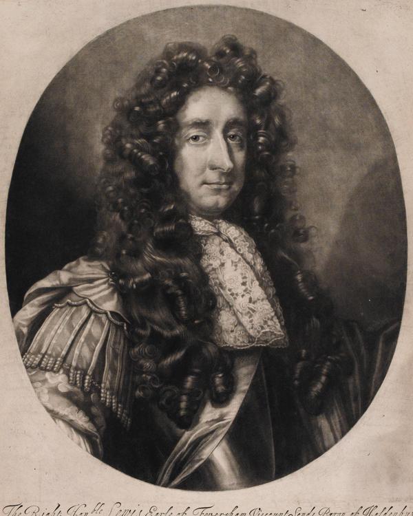 General Louis de Duras, 2nd Earl of Feversham, commander of King James II's Army, c1686