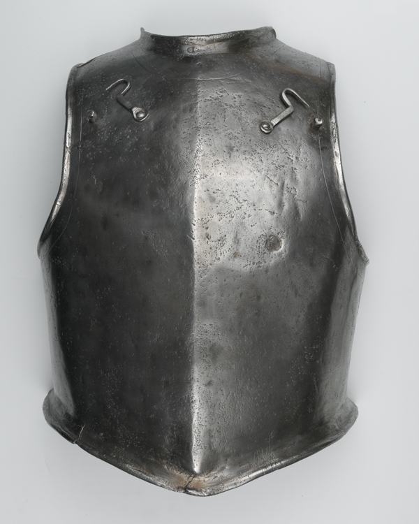 Siege breast-plate, c1680s