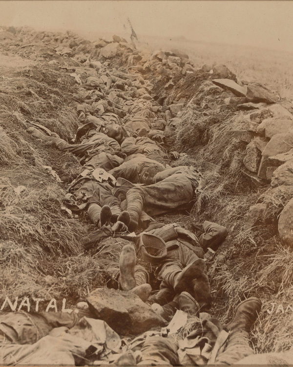 British dead at Spion Kop, January 1900