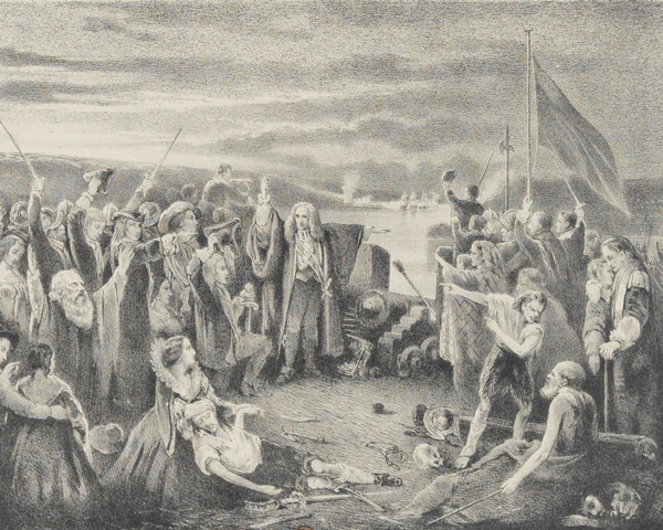 The relief of Derry, August 1689