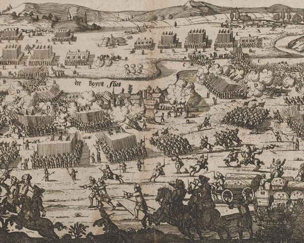 The Battle of Aughrim, July 1690