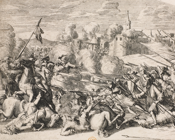 A sortie by the Enniskillen garrison, 1689