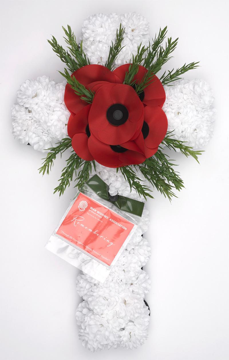 Wreath, War Widows' Association of Great Britain, c2018