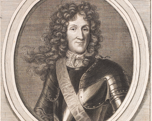Francois de Montmorency, Duke of Luxembourg, Marshal of France, c1690