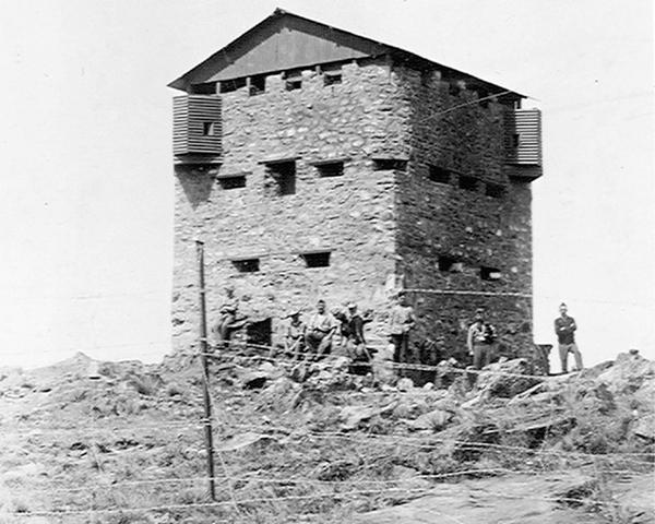A British Army blockhouse, 1901