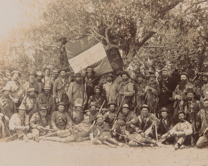 Members of a Boer commando, c1899