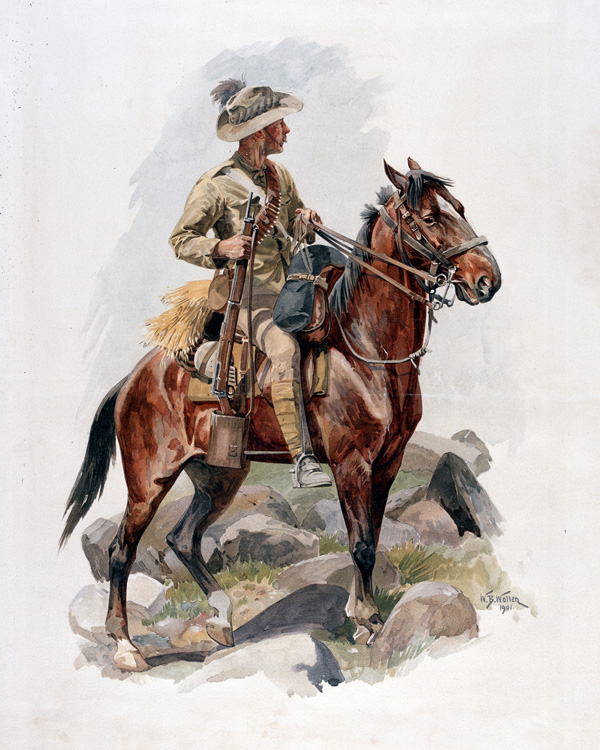 An Australian Scout, South Africa, 1901