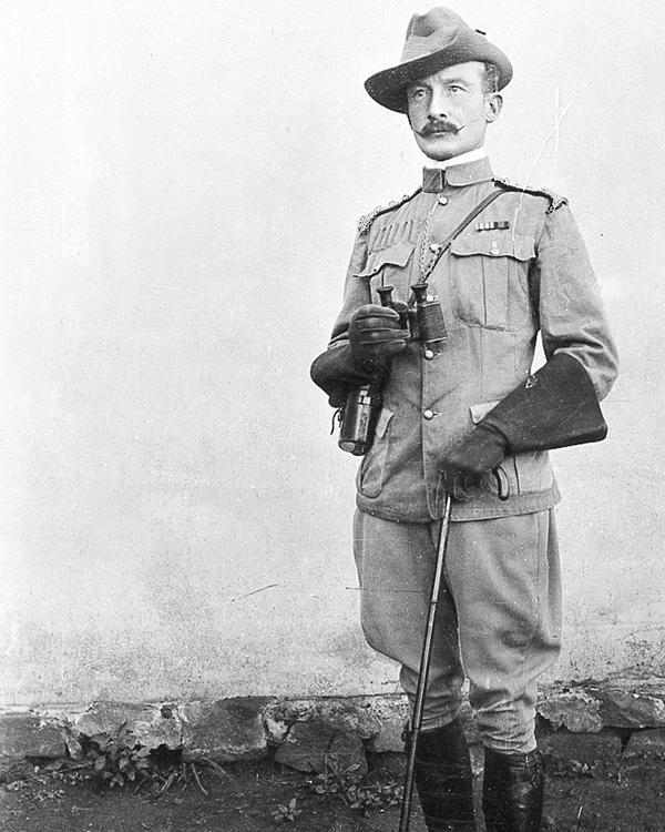 Colonel Robert Baden-Powell at Mafeking, 1899