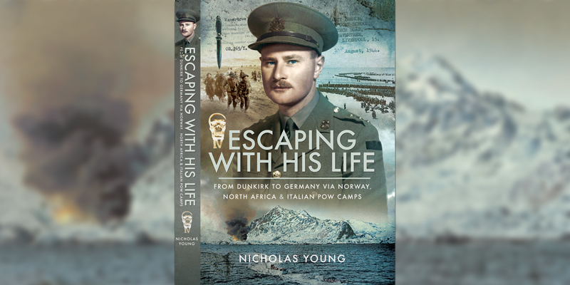 'Escaping with his life' book cover