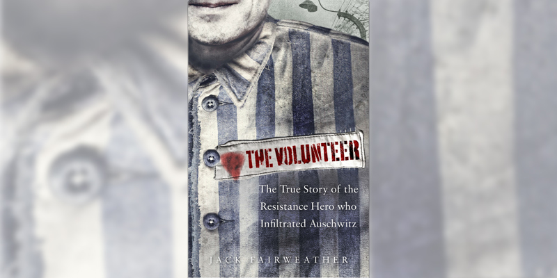 'The Volunteer' book cover
