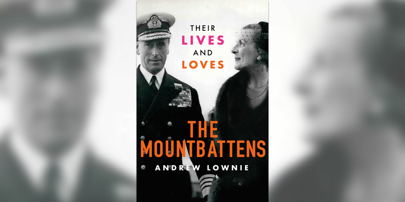 'The Mountbattens' book cover