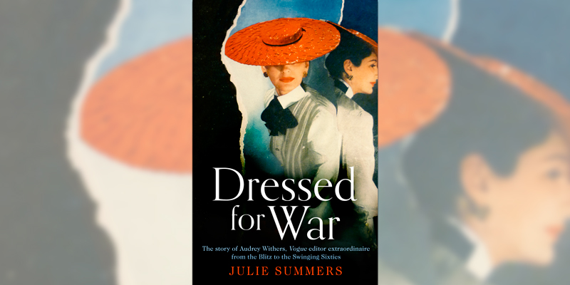 'Dressed for War' book cover