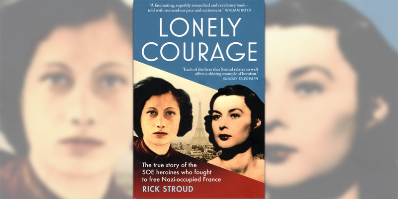 'Lonely Courage' book cover
