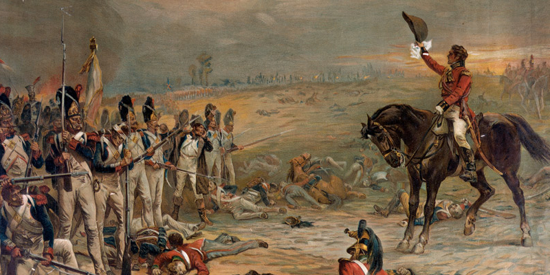 The Last Stand of the Imperial Guards at Waterloo