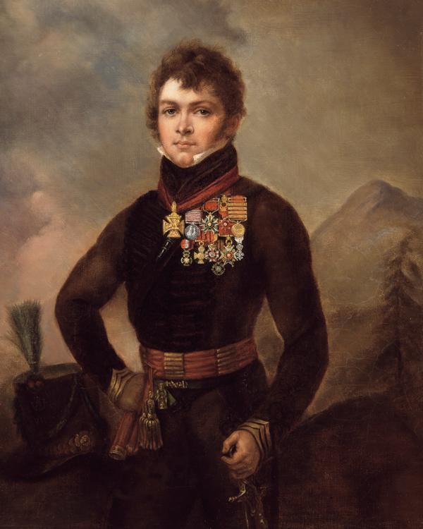 Major Sir John Scott Lillie, 7th Cacadores, Portuguese Army, c1820