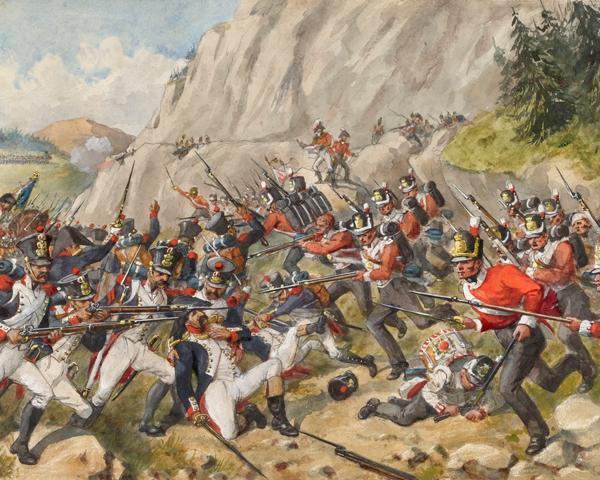 The Battle of Busaco, 27 September 1810