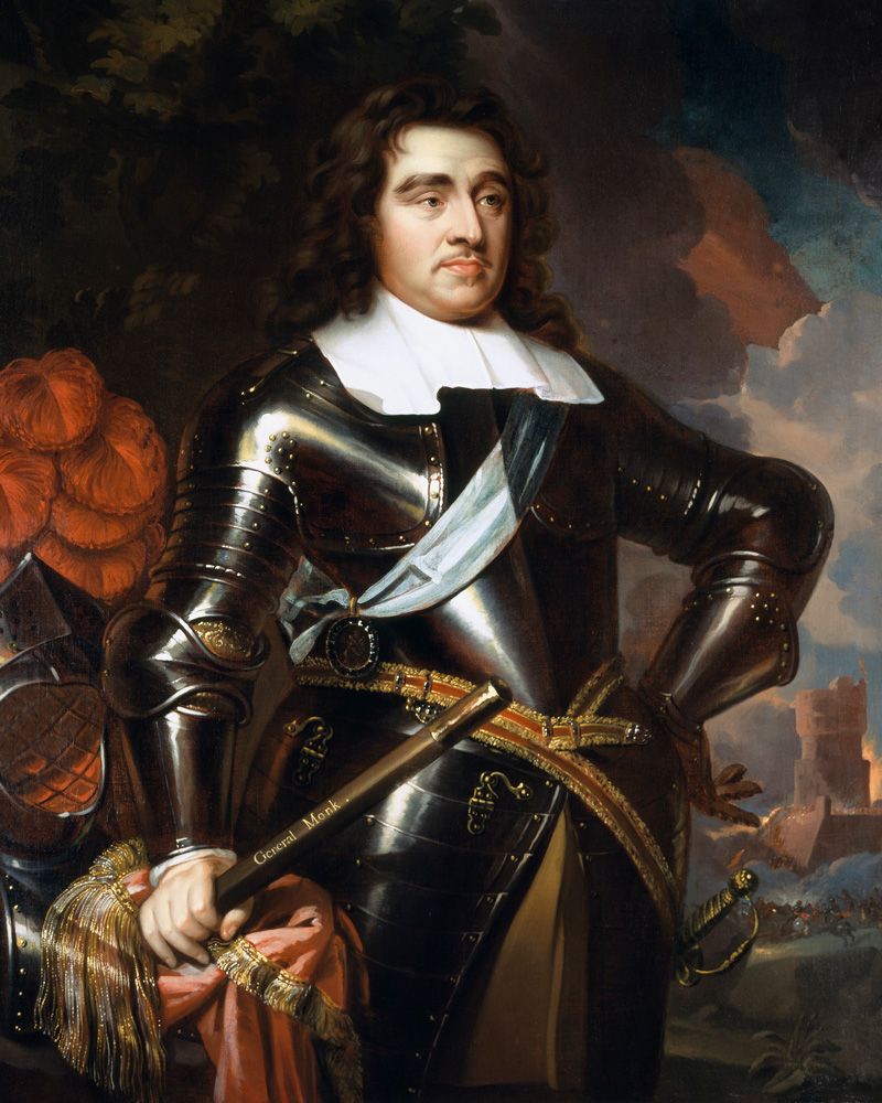 General George Monck, 1st Duke of Albemarle, c1665