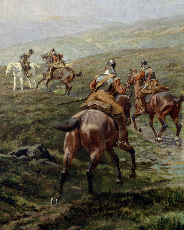 Horsemen of the New Model Army, 1645