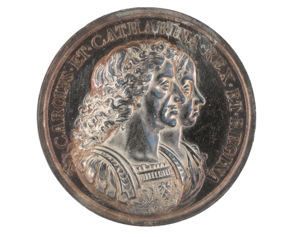 Medal commemorating the acquisition of Bombay on the marriage of King Charles II, c1670