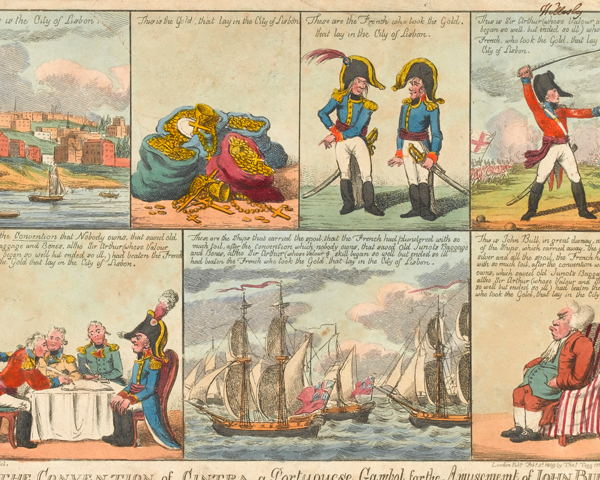 'The Convention of Cintra, a Portuguese Gambol for the Amusement of John Bull', 1809