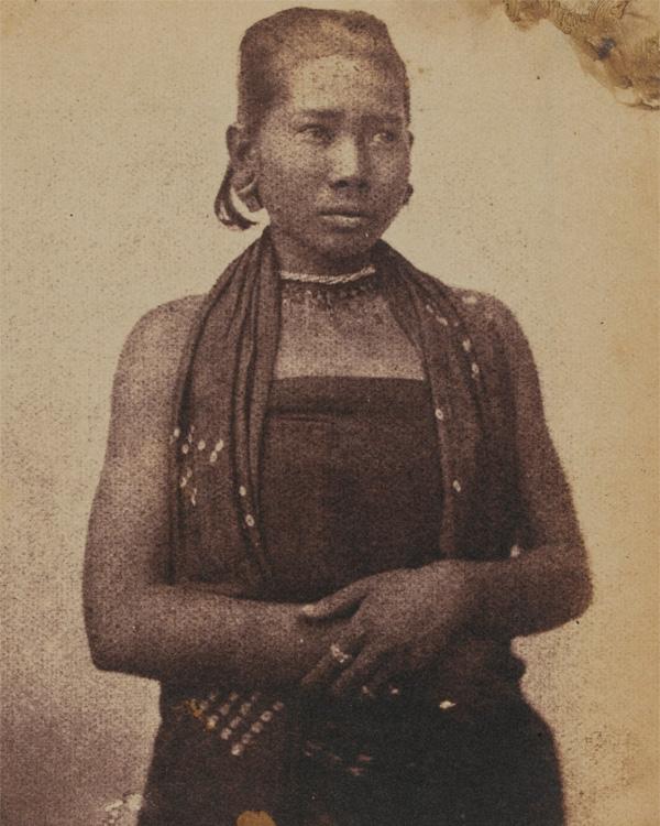 Burmese woman, c1852