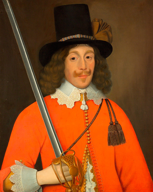 Colonel John Hutchinson, Parliamentarian and Governor of Nottingham Castle, c1643