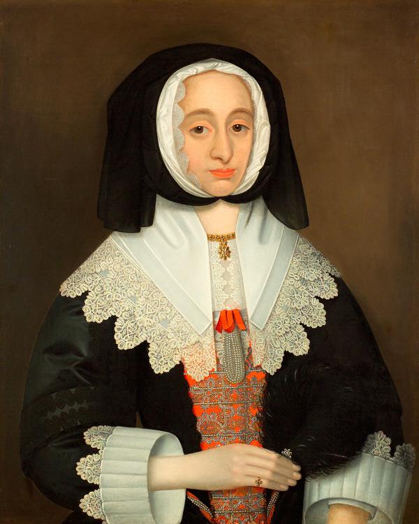 Mrs Lucy Hutchinson, c1643