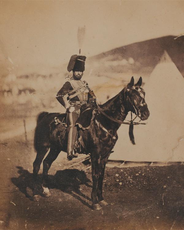 Cornet Henry John Wilkin, 11th (Prince Albert's Own) Hussars, 1855