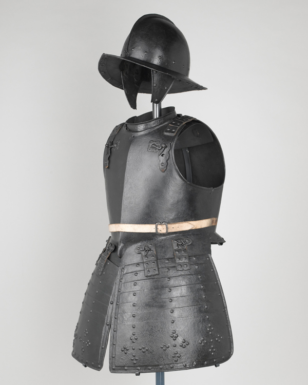 Set of pikeman's armour, 1640s