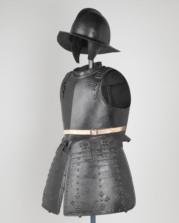 Set of pikeman's armour, 1640s