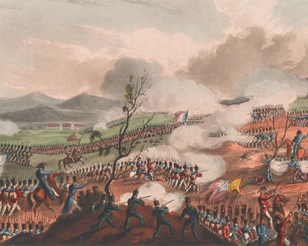 The Battle of Nivelle, 10 November 1813