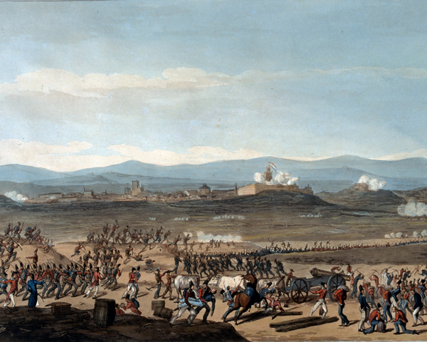 Badajoz during the siege of June 1811