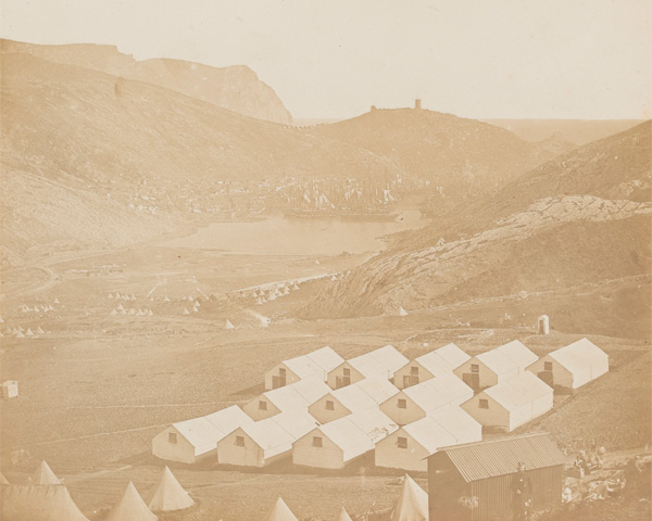 Balaklava Harbour, 1855