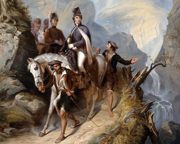 Wellington at Sorauren, 27 July 1813