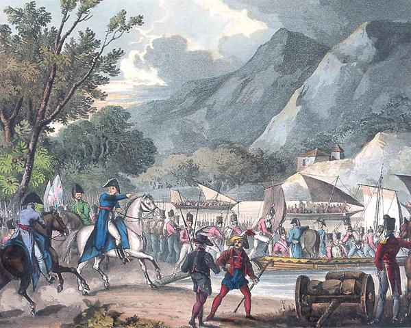 Crossing the River Bidassoa, 7 October 1813