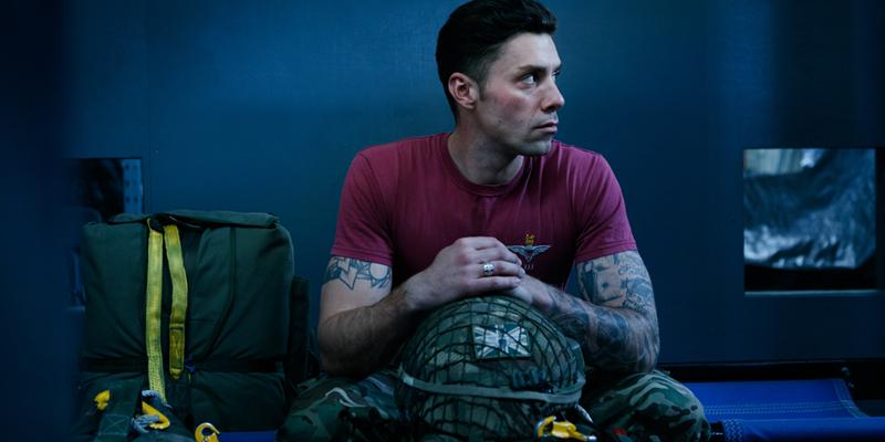 Sam Bailey of The Parachute Regiment