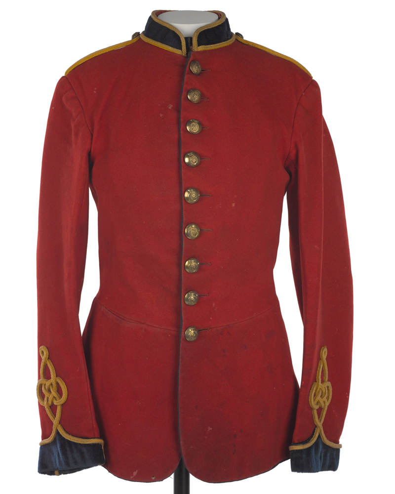 Full dress tunic, Corps of Royal Engineers, c1883