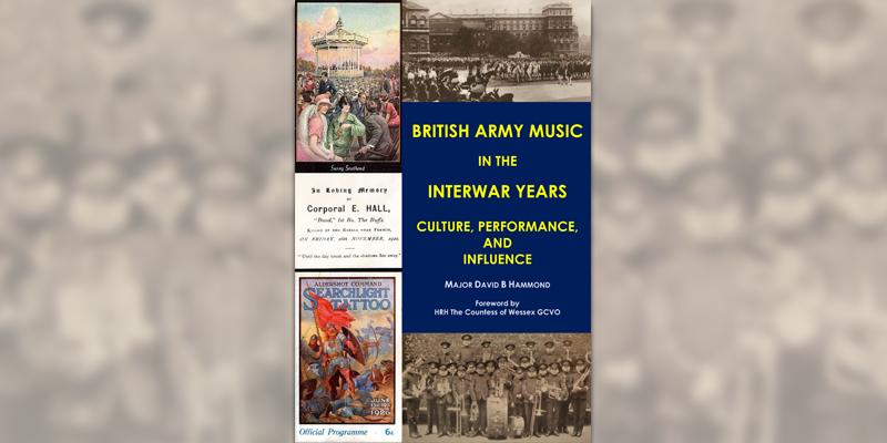 'British Army Music in the Interwar Years' book cover