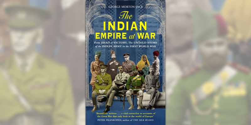 'The Indian Empire at War' book cover.