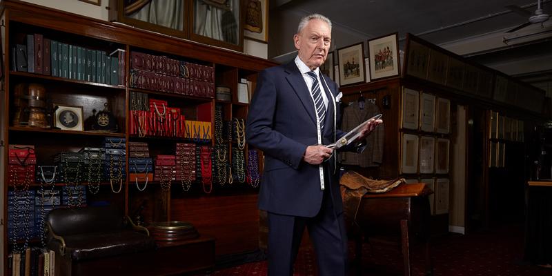 Brian Lewis, Director of Meyer & Mortimer
