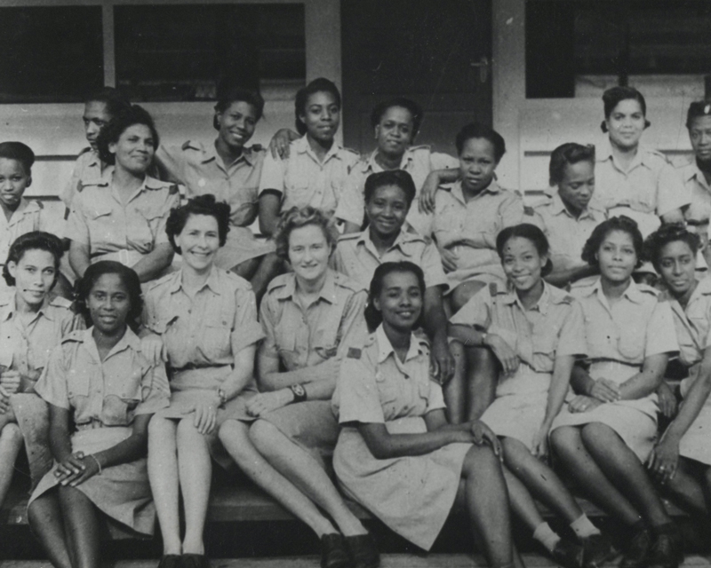 A West Indian detachment of the Auxiliary Territorial Service, c1943