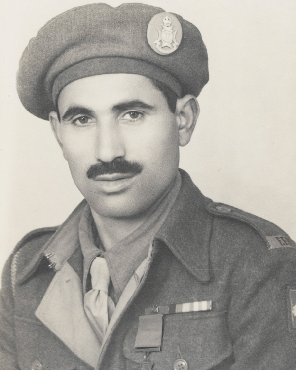 Sepoy Ali Haidar VC, 13th Frontier Force Rifles, 13 August 1945
