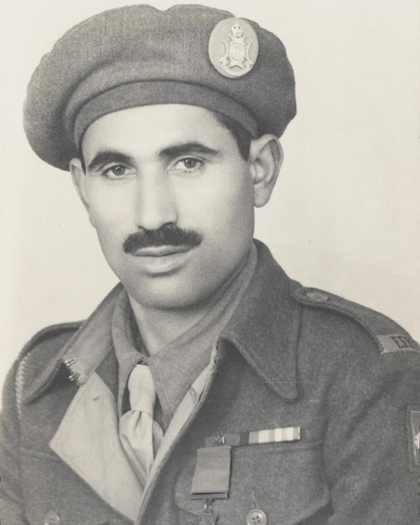 Sepoy Ali Haidar VC, 13th Frontier Force Rifles, 13 August 1945